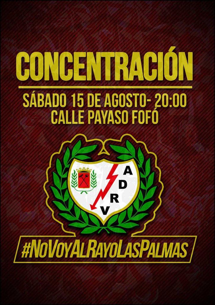No voy al Rayo Las Palmas